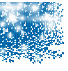 Modern abstract blue background design vector