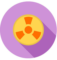Radioactive zone vector