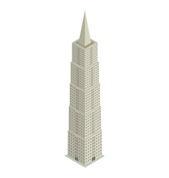Skyscraper isometric vector