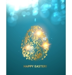 The Easter egg vector image