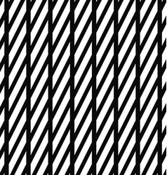 Black and white stripe pattern vector