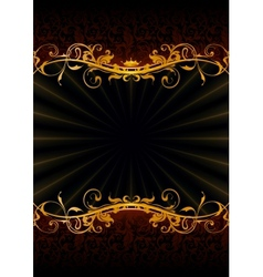Luxury Wallpaper Backdrop vector image vector image