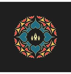 Ornament Decoration Ornate Frame Elegant Element vector image vector image