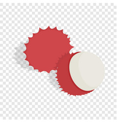 Rambutan isometric icon vector