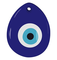 Turkish eye amulet vector