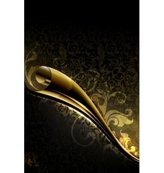 Luxury wallpaper backdrop vector