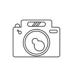 Isolated camera gadget design vector