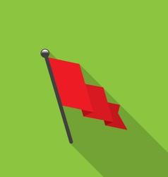 Flag icon vector
