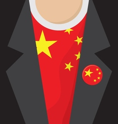 China t-shirt vector