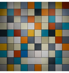 Abstract background - retro squares vector