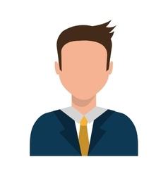 Avatar business man graphic vector
