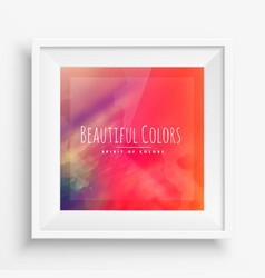 Beautiful colors abstract background vector