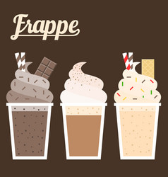 Frappe vector