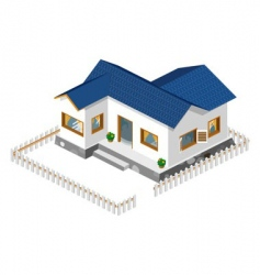Rich house vector