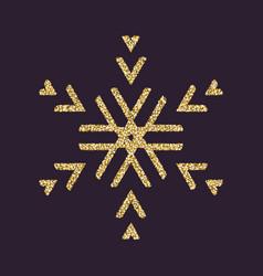 Snowflake icon christmas and new year xmas vector