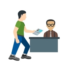 Submitting documents vector