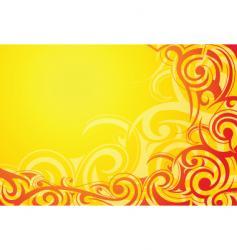 tribal art frame vector image