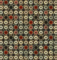 Vintage flowers seamless vector