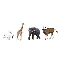 Wild animals vector image vector image