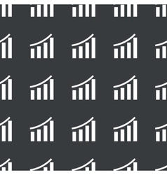 Straight black bar graphic pattern vector