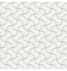 Seamless pattern of intersecting lines vector