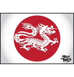 Asian traditional dragon vector