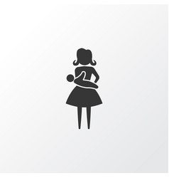 baby icon symbol premium quality isolated mother vector image vector image