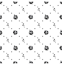 Hand drawn dot pattern vector