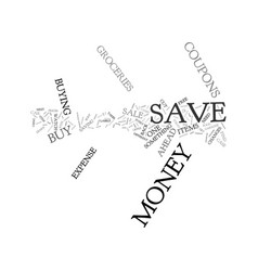 The cutbacks in how to save money text background vector