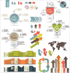 Infographics modern design vector