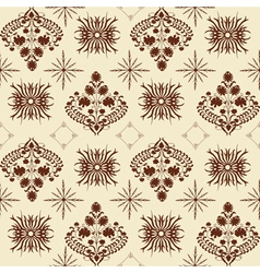 Art nouveau pattern vector