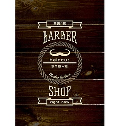 Barbershop badges logos and labels for any use vector
