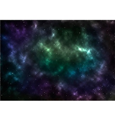 Universe space vector image