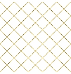 Gold foil glitter line stripes seamless pattern vector