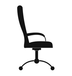 Massage chair icon simple style vector