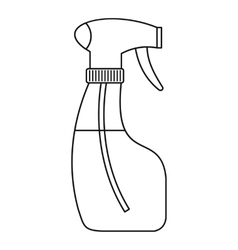 Spray icon outline style vector
