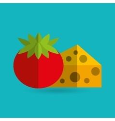 Food nutrition design vector