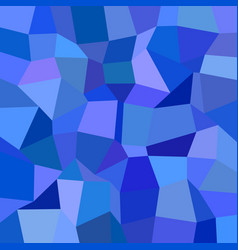Blue rectangle tiled mosaic pattern background vector