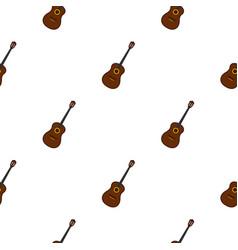 Charango music instrument pattern seamless vector