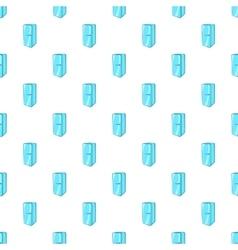 Refrigerator pattern cartoon style vector