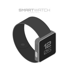 smart watch isolated on white background for your vector image