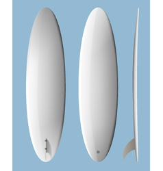 Surfboard egg vector