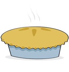apple pie vector image vector image