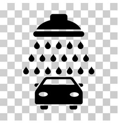 car shower icon vector image