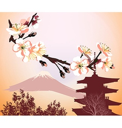 Japanese symbols vector image vector image