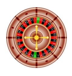 Tables american roulette vector