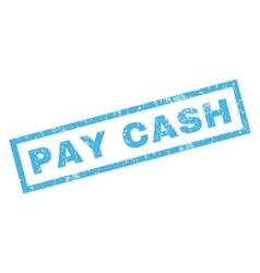 Pay cash rubber stamp vector