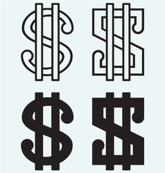 The dollar sign vector