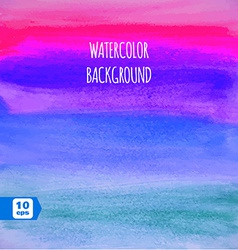 Abstract colorful watercolor paintbrush background vector