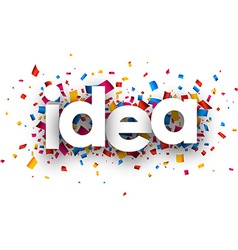 Idea sign vector